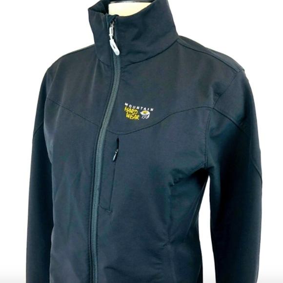 Mountain Hardwear Jackets & Blazers - Mountain Hardwear Full Zip Black Windbreaker